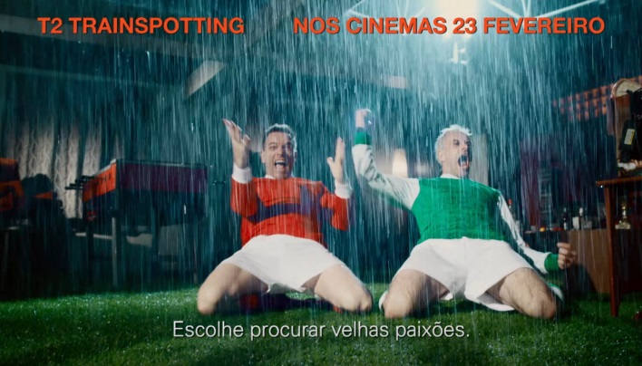 Trainspotting 2: Portuguese trailer produced at Sound Station with the voice of João David Nunes